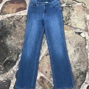 Talbots Stretch Jeans Sz 8 Long